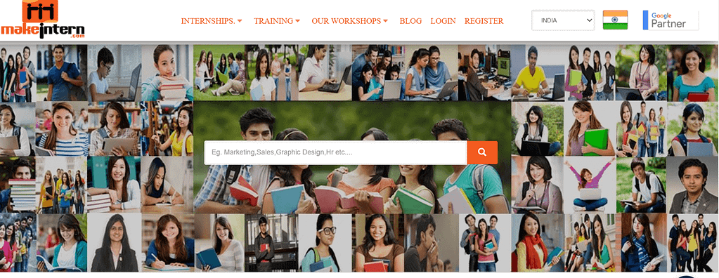 internship website